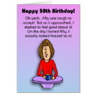 Funny Birthday Card:  Celebrating 50th Birthday Card