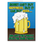 Funny Birthday Card for man - Beer!