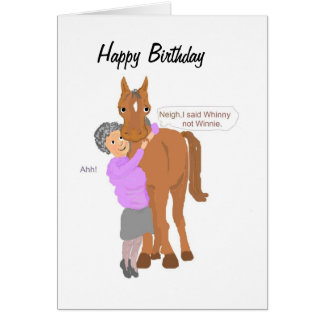 Funny Birthday card, Greeting Card