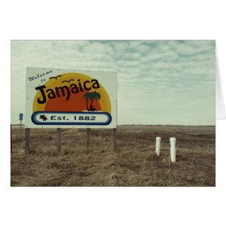 Funny Birthday Card Jamaica Beach Paradise
