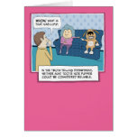 Funny birthday card: What's That Smell?