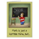 Funny Birthday Cards: Birthday Math