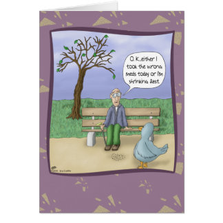 Funny Birthday Cards: Day at the Park Card