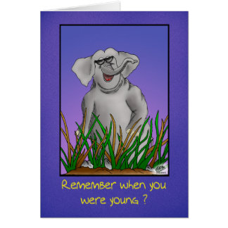 Funny Birthday Cards: Remember when? Card