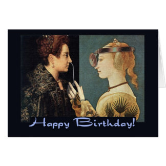 Funny Birthday Fifty Renaissance Colonoscopy Card
