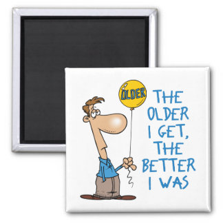 Funny Birthday Gift Square Magnet