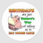 Funny Birthday Gift Stickers