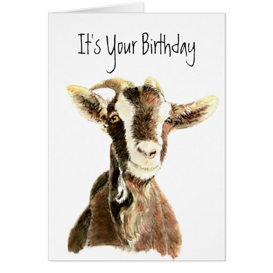 Funny Birthday, Over the Hill, Old Goat Humour