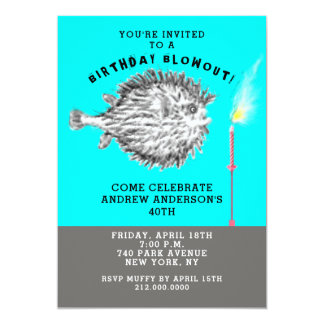 funny birthday party invitations