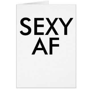 Funny birthday sexy af bestselling card