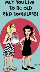 Funny Birthday Wish For Female Friend Card