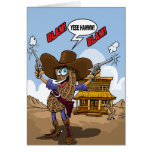 Funny Birthday Wishes - Peanut Cowboy Cards