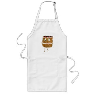 Funny black forest gateaux novelty apron