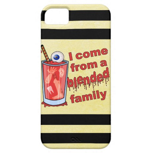 Funny Blended Family Pun iPhone 5 Cover