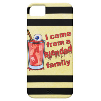 Funny Blended Family Pun Case For The iPhone 5