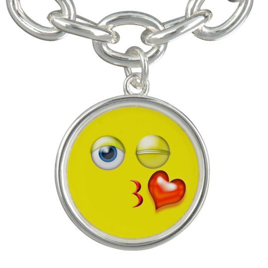 Funny Blow A Kiss Emoji Smiley