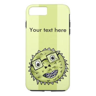 Funny blow fish iPhone 7 plus case