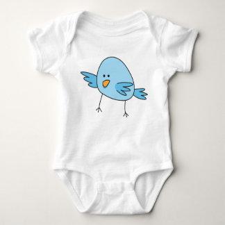 Funny blue bird kids animal cartoon creeper