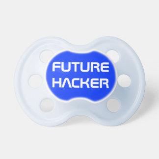 Funny Blue Future Computer Hacker Nerdy Dad Dummy