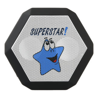 Funny Blue Star Cartoon Speaker