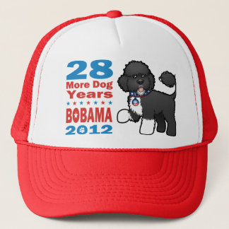 Funny Bobama the Dog 2012 Elections Cap