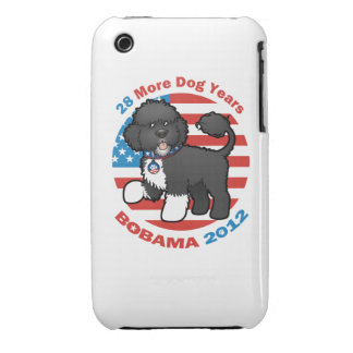 Funny Bobama the Dog 2012 Elections iPhone 3 Covers
