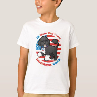 Funny Bobama the Dog 2012 Elections T-Shirt