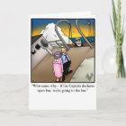 Funny Bon Voyage Cruise Greeting Card