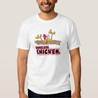 funny boneless chicken cartoon shirts