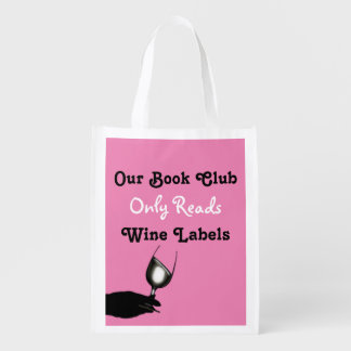 Funny book club humor | Personalized Reusable Grocery Bag