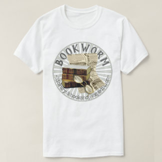 Funny Bookworm Old Books T-Shirt