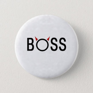 Funny Boss Gifts 6 Cm Round Badge