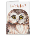 Funny Boss's Day, Wise Owl Humour