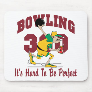 Funny Bowling 300 Mouse Pad