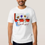 Funny Bowling Ball Police Line Up T Shirts