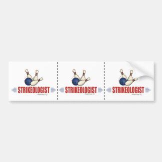 Funny Bowling Bumper Sticker