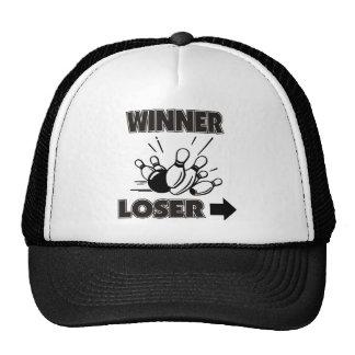 Funny Bowling Winner Loser Cap