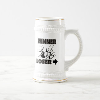 Funny Bowling Winner Loser Mug