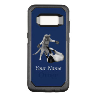 Funny boxing cats OtterBox commuter samsung galaxy s8 case