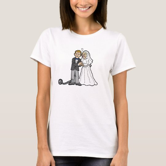 Funny Bride & Groom t-shirt