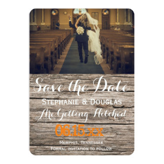 funny bride kidnapping/Save The Date 13 Cm X 18 Cm Invitation Card