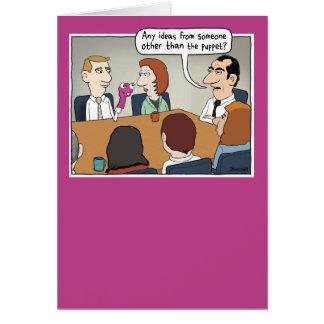 Funny Bright Idea Boss's Day card