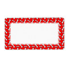 Funny Bright Red Dog Bone Pattern for Dog Lovers