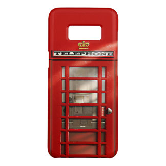 Funny British Red Phone Booth Case-Mate Samsung Galaxy S8 Case