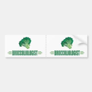 Funny Broccoli Bumper Sticker