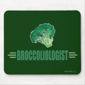Funny Broccoli Mousepads