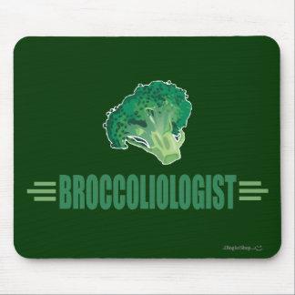 Funny Broccoli Mousepads