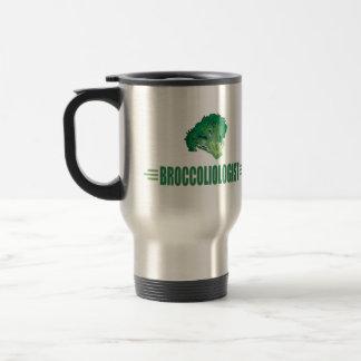 Funny Broccoli 15 Oz Stainless Steel Travel Mug