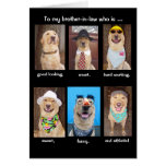 Funny Brother-in-law Birthday Cards