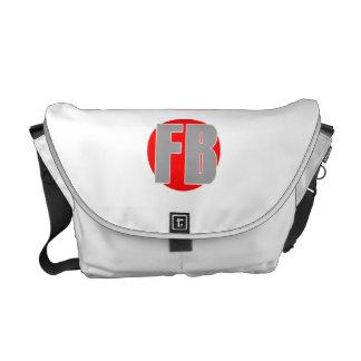 Funny Brothers Messenger Bag.. Commuter Bag